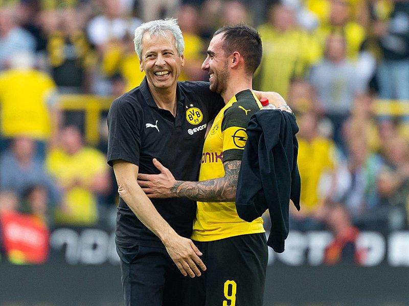 Sechs Aus Drei Paco Alcacer Lässt Favre Schwärmen Bundesliga Kicker
