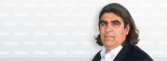 kicker-Redakteur Georgios Moissidis