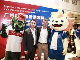 VfB Stuttgart kooperiert mit Guangzhou R&F
