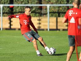 Rafinha zurück im Bayern-Teamtraining