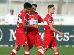 Erster Sieg für Weinzierl: Gonzalez trifft in VfB-Test