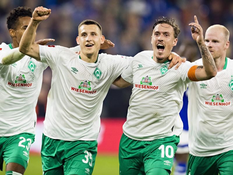 Maximilian Eggestein sorgte per Doppelpack für den Sieg auf Schalke.