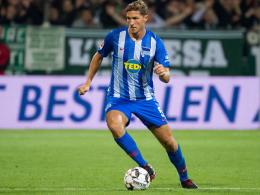Aufatmen bei Hertha: Stark bereit für Dortmund
