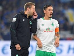 Kohfeldt adelt Kruse - Baumann sucht weitere Gespräche