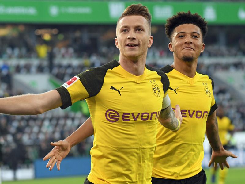 Dortmunds Torschütze zum 1:0: Marco Reus.