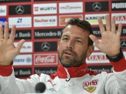 Tasmania-Alarm beim VfB: Weinzierl sieht