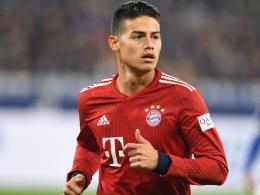 Nächster Ausfall: Bayerns James am Knie verletzt