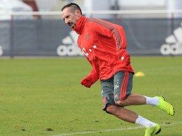 Ärger beigelegt: Ribery sagt Pardon