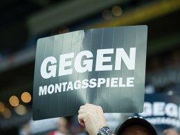 Auf ein Neues: Fans protestieren gegen Montagsspiele