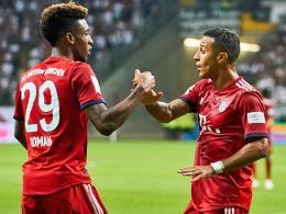 Coman und Thiago gegen Bremen im Bayern-Kader