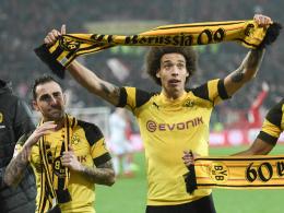 Bloß nicht verzapfen: BVB-Fans im Derbyfieber