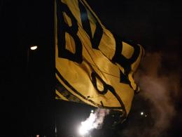 Spektakulärer Empfang für Dortmunds Derbysieger