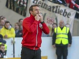 Umfrage: Ist ist es richtig, dass der VfB an Weinzierl festhält?