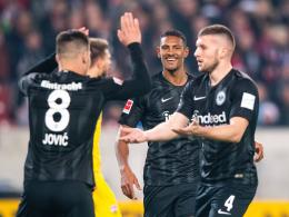 Eintracht-Trio begeistert - Lewandowski nur Vierter