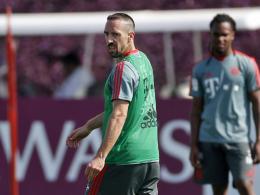 Ribery verletzt sich beim internen Testspiel