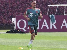 Nach Muskelfaserriss: Ribery wieder im Lauftraining