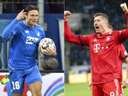 Bayern starten Aufholjagd: 3:1 bei Hoffenheim