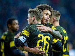 Trotz Widrigkeiten: BVB wehrt Bayern-Angriff ab