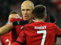 Ribery und Robben arbeiten am Comeback