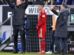 Ungewöhnliche Aktion: Kovac gibt James frei