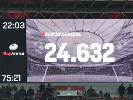 Bayer: Zuschauerzahlen auf Zehn-Jahres-Tief