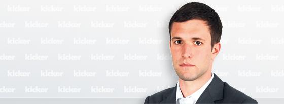 kicker-Redakteur David Bernreuther.