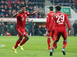Trotz Rückständen: Bayern siegen in Augsburg