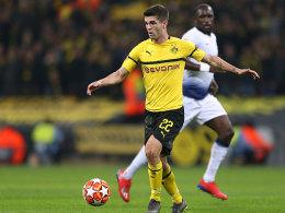 Auch das noch: Dortmund ohne Pulisic in Nürnberg