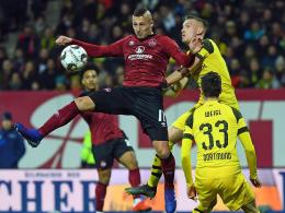 Nürnberg ärgert Dortmund: BVB-Vorsprung schmilzt