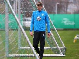 Training abgebrochen: Wolfsburg bangt um Weghorst
