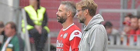 Marco Rose und Jürgen Klopp
