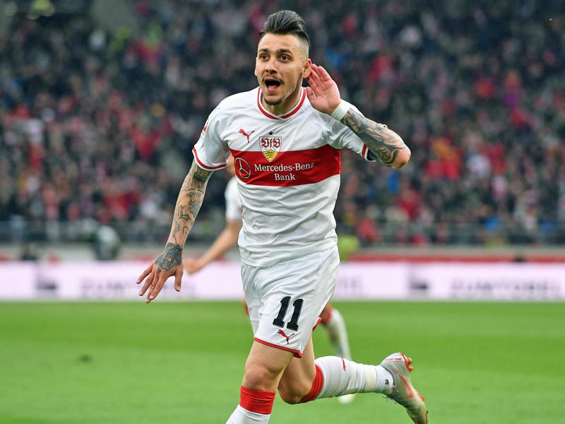 Stuttgarts Matchwinner Donis