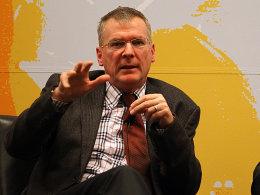 """""""In der Hinrunde gibt es zwei englische Wochen"""": Holger Hieronymus."""
