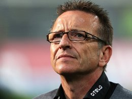 """""""Die Mannschaft muss sich nicht kleiner machen als sie ist"""": Fortunen-Coach Norbert Meier."""