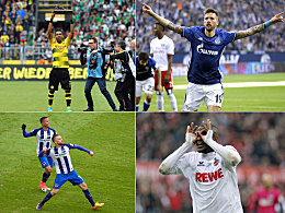 Abhängigkeit vom Torjäger: Schalke vor dem BVB, Köln stürzt ab