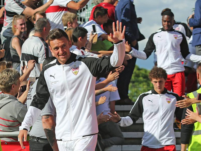 4.000 Fans begrüßen Aufsteiger Stuttgart zum Auftakt
