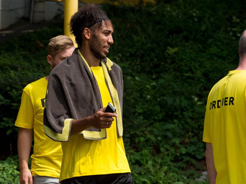 Dortmund: Anschwitzen mit Götze und Aubameyang