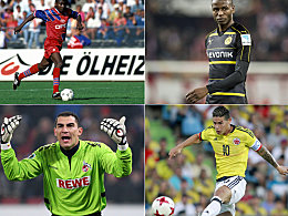 James ist Nummer neun: Die Kolumbianer der Bundesliga
