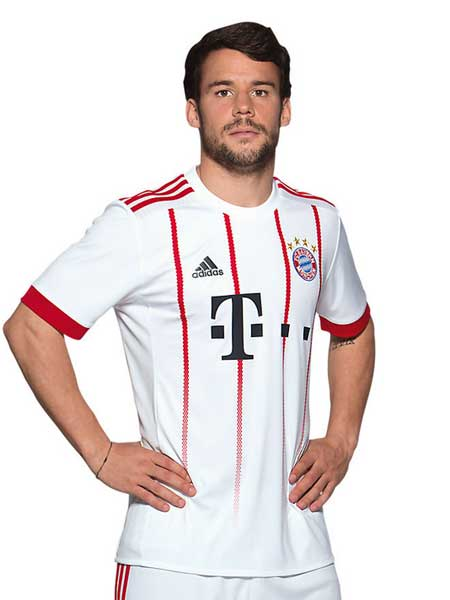 Das neue Champions-League-Trikot der Bayern