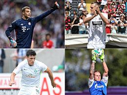 Sieben Wechsel: Das sind die Kapitäne der Bundesligisten