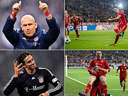 Torhungrige Bayern-Legionäre: Robben allein vorn