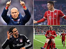Torhungrige Bayern-Legionäre: Lewandowski überflügelt Robben