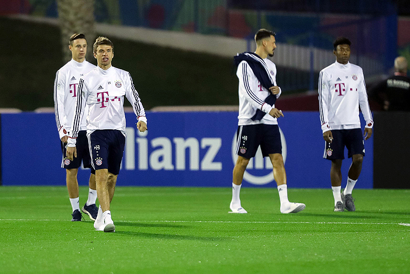 Impressionen vom Bayern-Camp in Doha