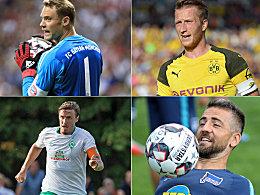 Reus, Kruse & Co.: Die Kapitäne der Bundesligisten