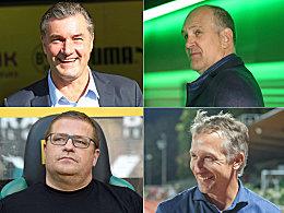 Von Schmadtke bis Zorc: Die Macher der Bundesligisten