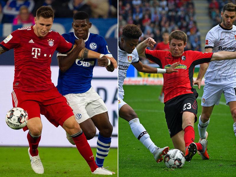 Bayerns Dribbler, Frankfurt hoch und weit, BVB effektiv