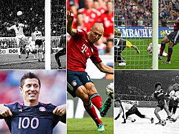 Bald auch Robben? Die Schnellsten mit 100 Bundesliga-Toren