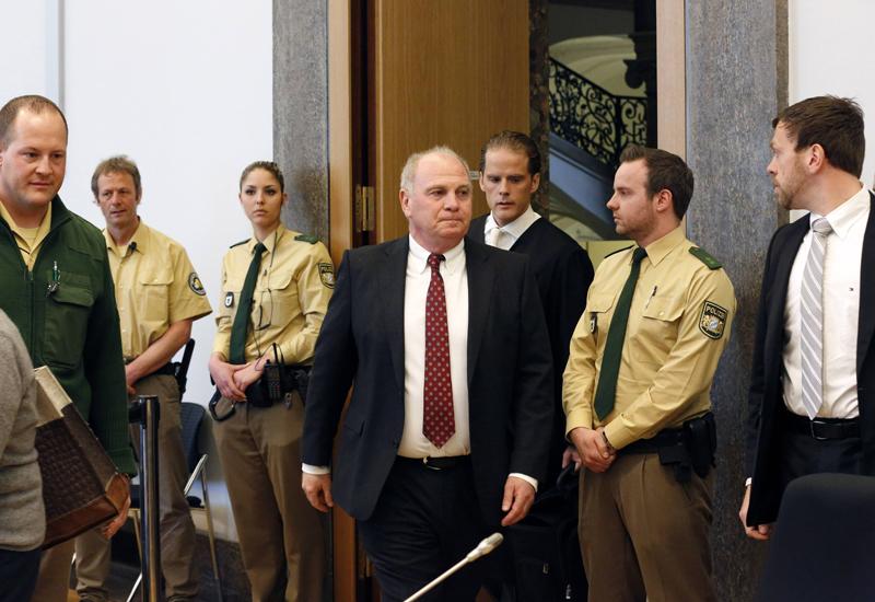 Uli Hoeneß vor dem Landgericht München II
