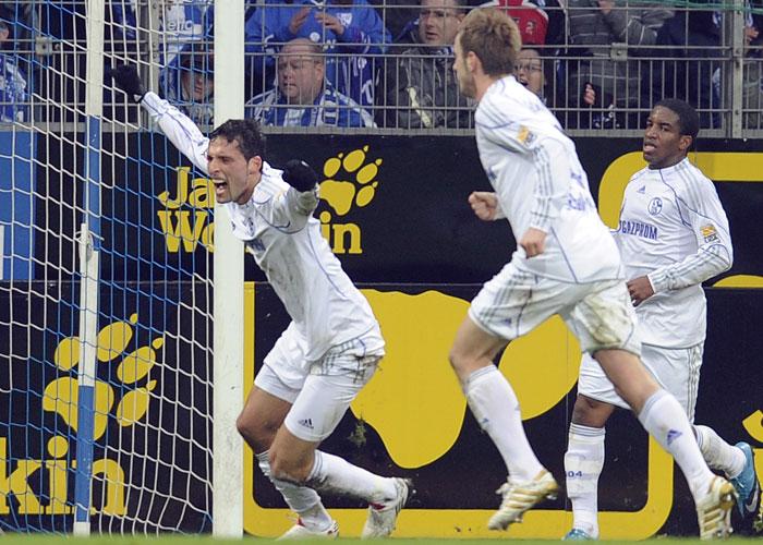 Da war noch alles in Butter für Schalke 04