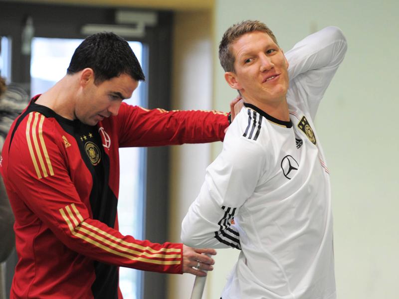 Zu Beginn des Jahres 2010 wurden die deutschen Nationalspieler bei einem Test auf Herz und Nieren sowie Beweglichkeit geprüft. Nichts wurde im Vorfeld der WM dem Zufall überlassen.